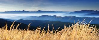 Berglandschaft für Homöopathie